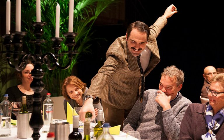 faulty towers dining experience | london on the inside