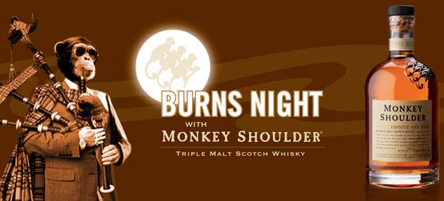 the Monkey Shoulder Burns Monkey Shoulder
