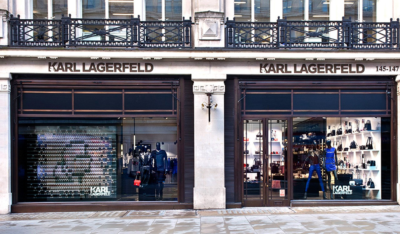 karl lagerfeld x regent street london on the inside. Black Bedroom Furniture Sets. Home Design Ideas