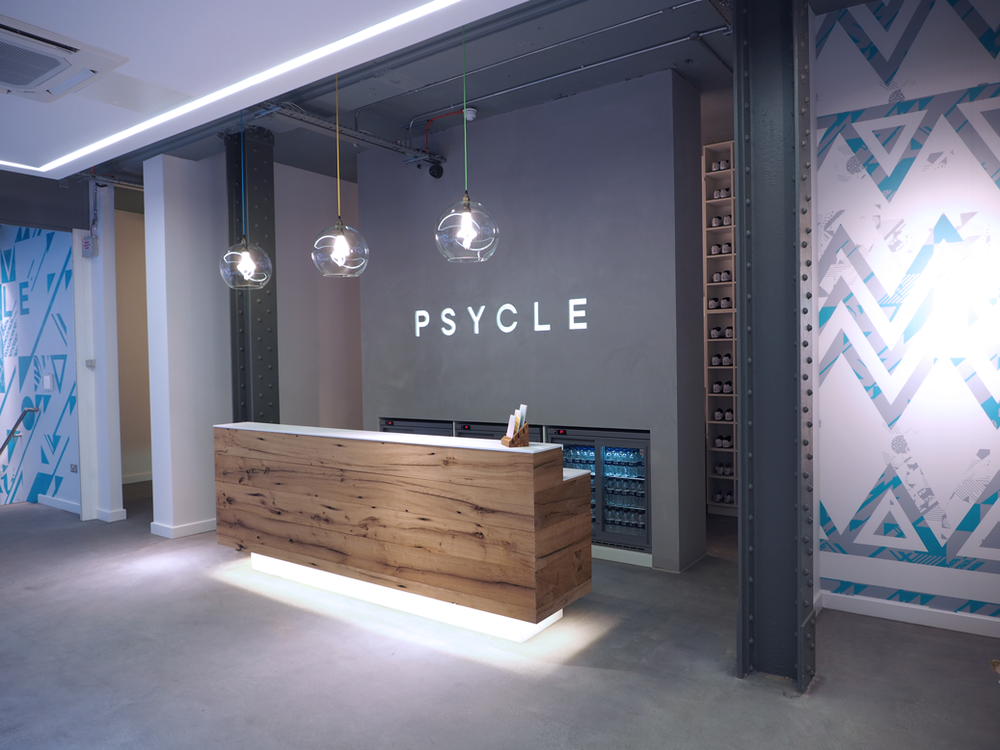 Psycle london on the inside
