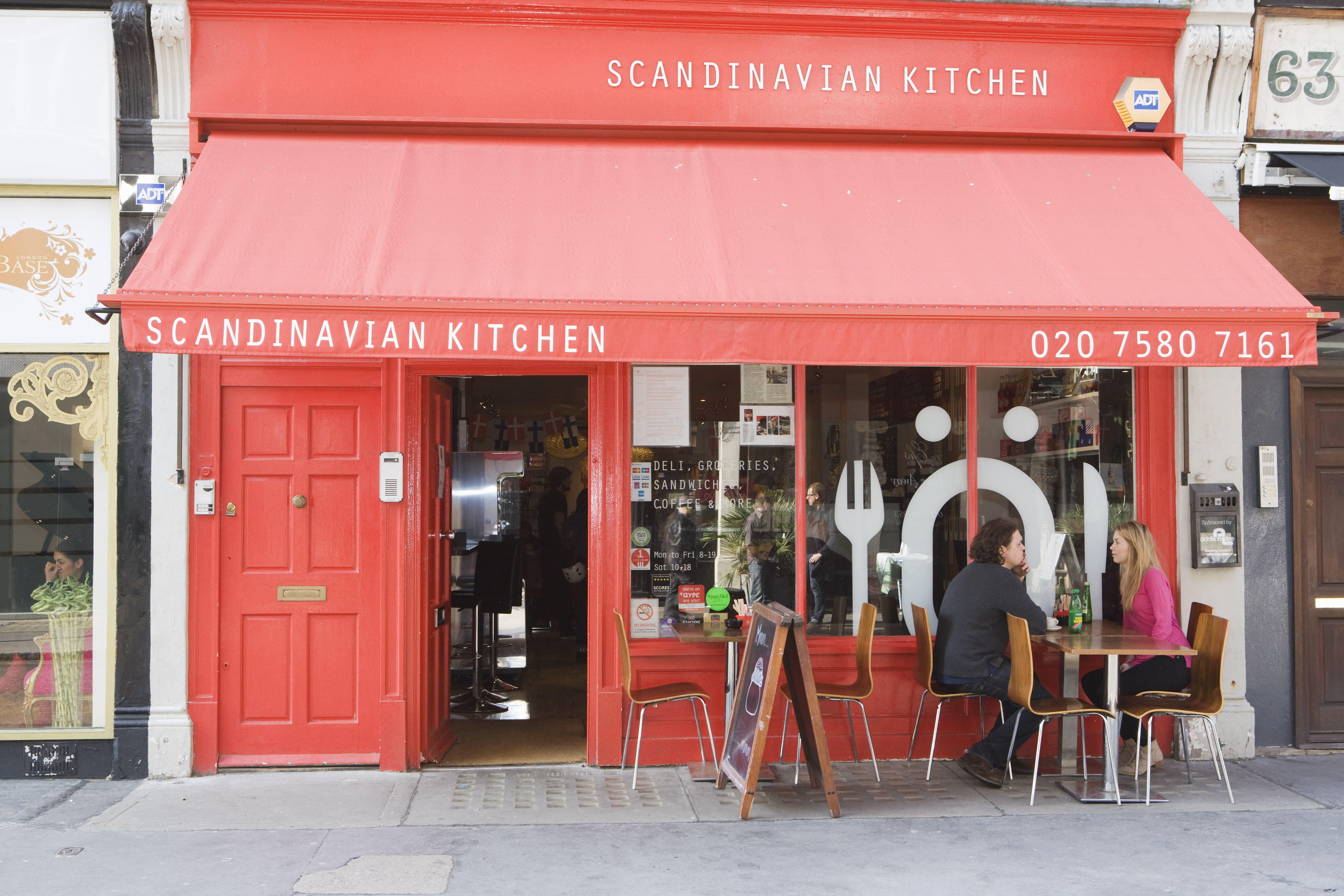 review scandi kitchen london on the inside