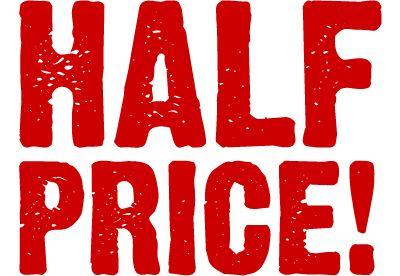 Half Price Opening Restaurant London