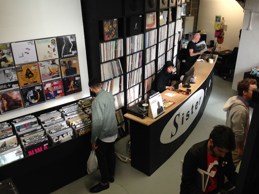 Sister Ray Records Ace Hotel London On The Inside