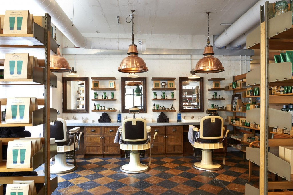 Review barber and parlour london on the inside for M kitchen world chop wash