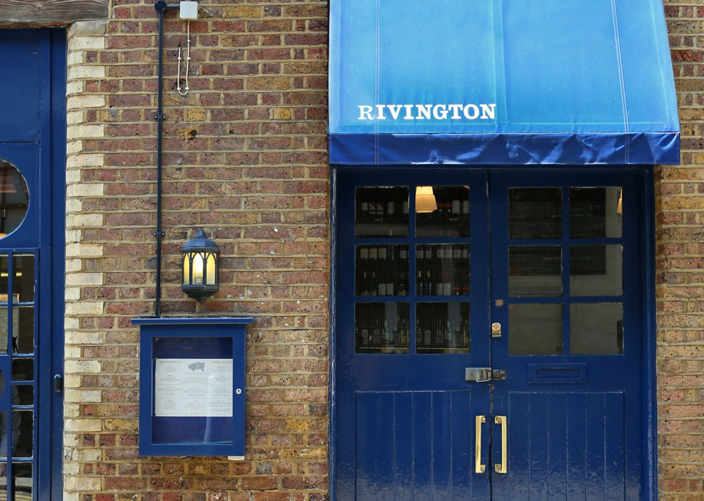 Review rivington grill shoreditch london on the inside for The rivington