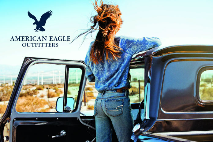 INTRODUCING AMERICAN EAGLE OUTFITTERS IN THE UK