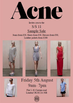 acne Archives - London On The Inside