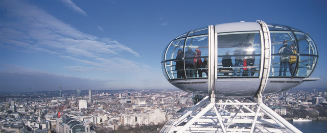free ride on the london eye london on the inside