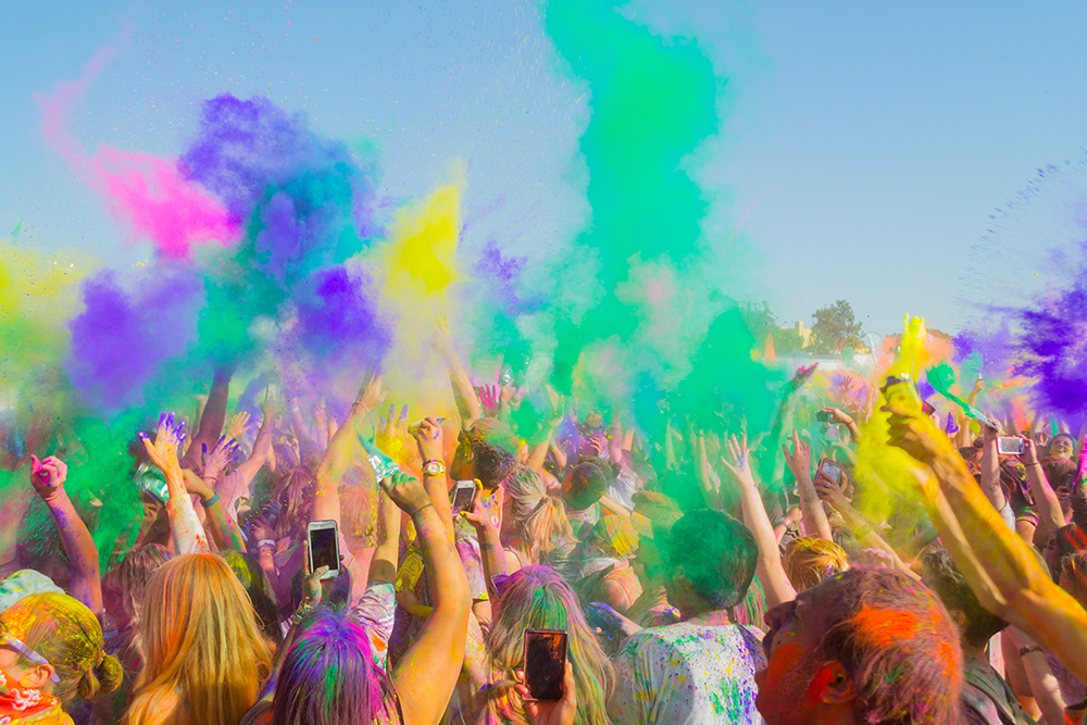 Win Tickets To Holi Festival  The Eastender