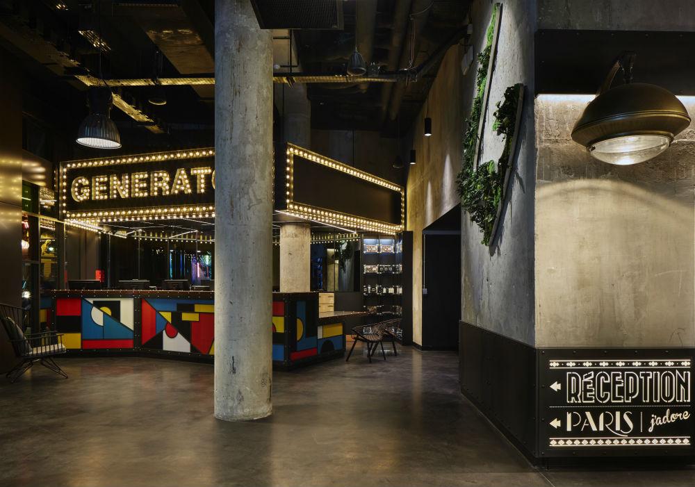 checking in generator hostel paris london on the inside. Black Bedroom Furniture Sets. Home Design Ideas