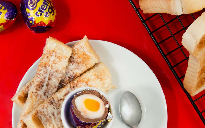 Cadbury's pop-up peace offering after changing the Creme Egg recipe