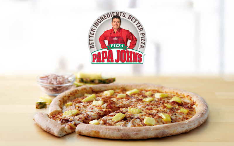 GUEST POST: PAPA JOHNS HAWAIIAN PIZZA
