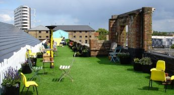 dalston roof park re-opens