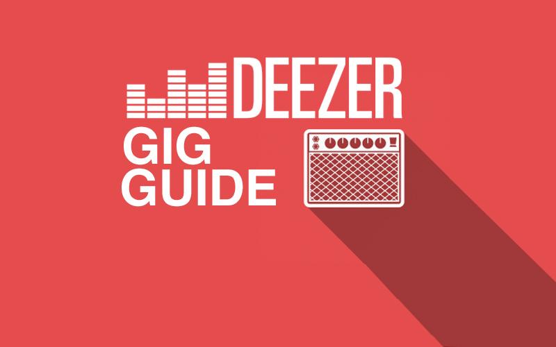 gig-guide Deezer
