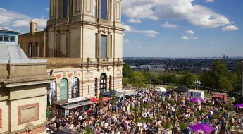 street food & craft beer fest at ally pally