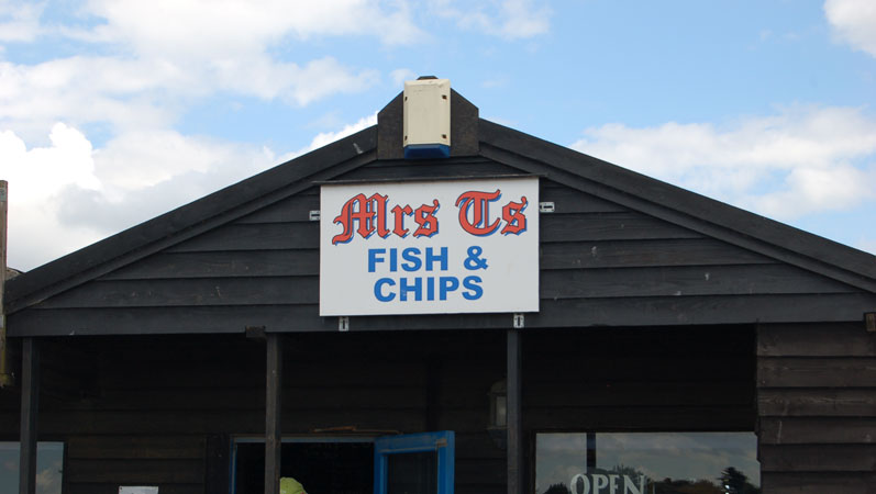 Fish And Chip Restaurant Southwold