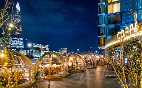 win dinner for four at coppa club igloos