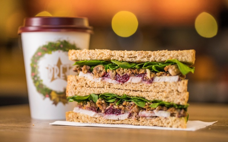 5000 FREE <br>PRET CHRISTMAS SANDWICHES