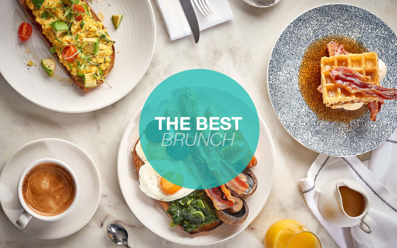 BEST BRUNCH SPOTS <br>IN LONDON