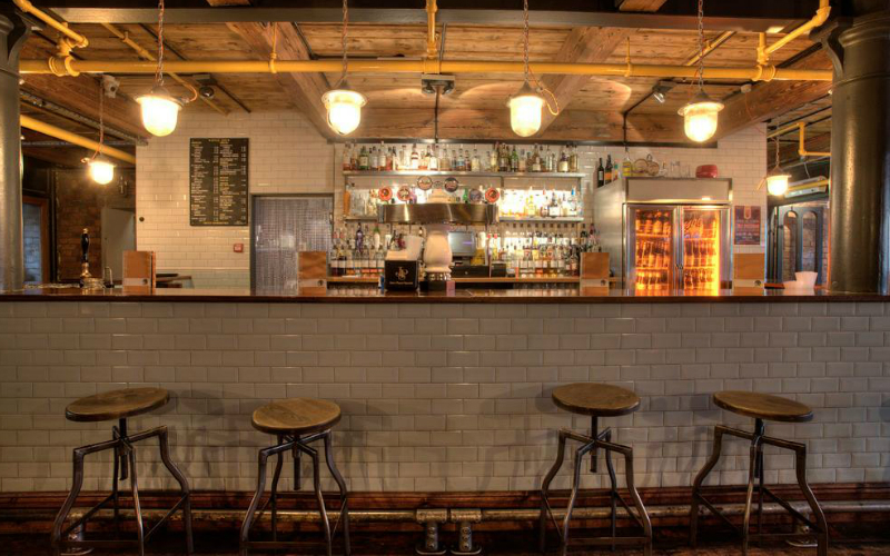 Kosmonaut Is One Of The Stalwarts NQ And Although Industrial Exposed Bricks Pipes Decor Has Spread Like Wildfire Its Still A Good Looking