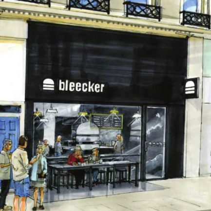 BLEECKER BURGER <br> COMING TO VICTORIA