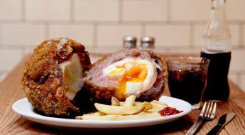 scotch egg challenge | london on the inside