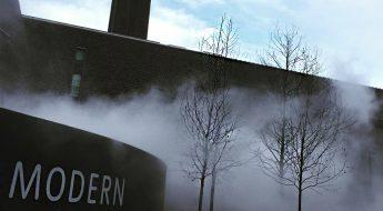 fog at tate modern