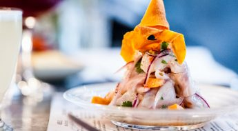 win dinner for four at ceviche soho