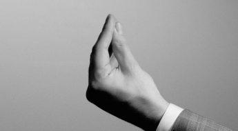 hand gesture menu