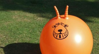 join a space hopper flash mob