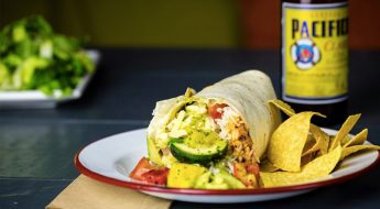 lobster burrito <br>a burrito like no other