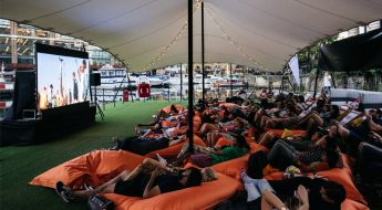 win 2x vip tickets to st kats floating film festival