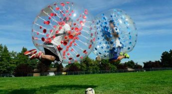 bubble football world cup
