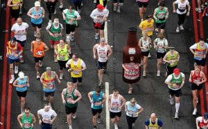free food for london marathon runners