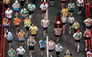 free food for london marathon runners