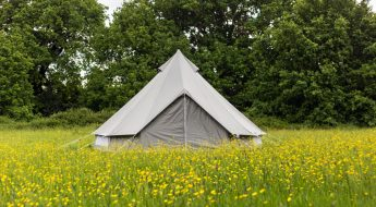 win a boutique oxford canvas bell tent