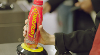 pay for the tube with a bottle of lucozade