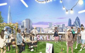 skylight to open <br> rooftop bar in wapping