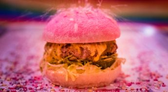 the dead happie: the pink burger