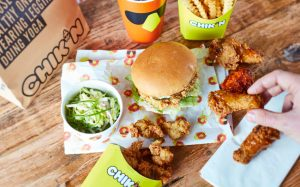 win a year's supply of fried chicken