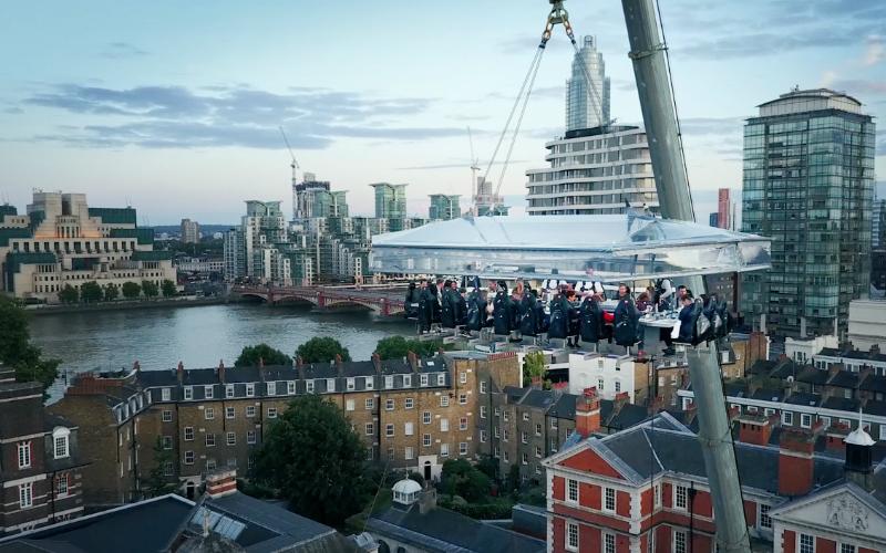london in the sky | london on the inside