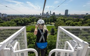 ride the world's longest city zip wire at southbank