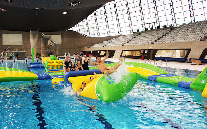 Uk 39 S Largest Indoor Inflatable Aquatic Experience London On The Inside