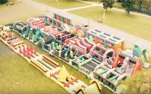 world's largest inflatable obstacle course <br> is coming to ally pally