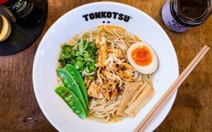 free ramen at tonkotsu