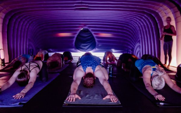 turn up the heat with hotpod yoga