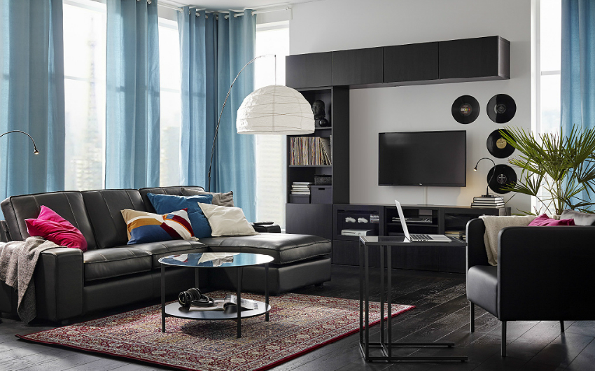 the ikea house party london on the inside. Black Bedroom Furniture Sets. Home Design Ideas