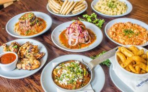win dinner for four at the real greek <br> during athens by night