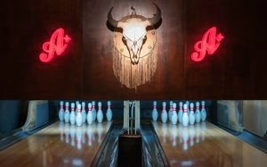 win a christmas dine, drink and bowl for four <br> at all star lanes