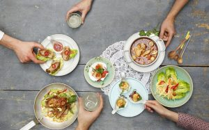 win a meal for 4 at giggling squid wimbledon